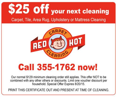 Red Hot Carpet Cleaning Carpet The Honoroak